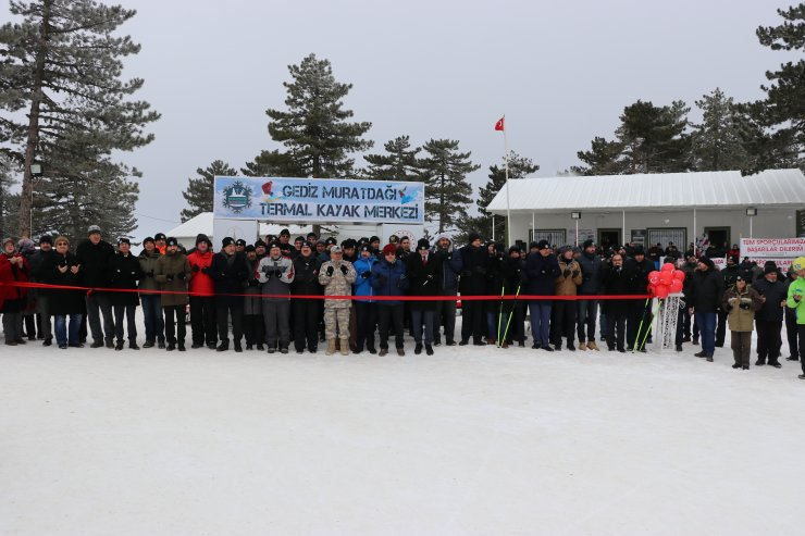 Murat Dağı Termal Turizm Merkezi'nde sezon açıldı