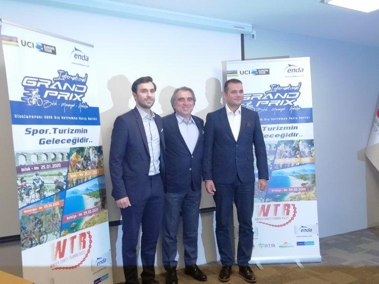 Kış Antrenman Yarış Serisi Dönemi Bisiklet Yarışları Antalya'da yapılacak