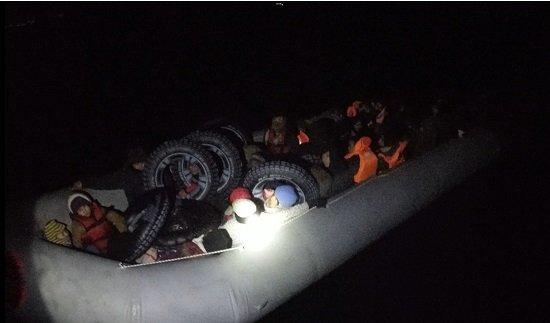 Çanakkale'de 28 düzensiz göçmen yakalandı