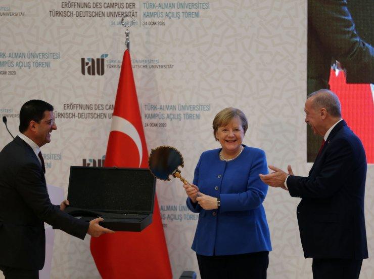 Türk-Alman Üniversitesi Yeni Binalarının Açılış Töreni