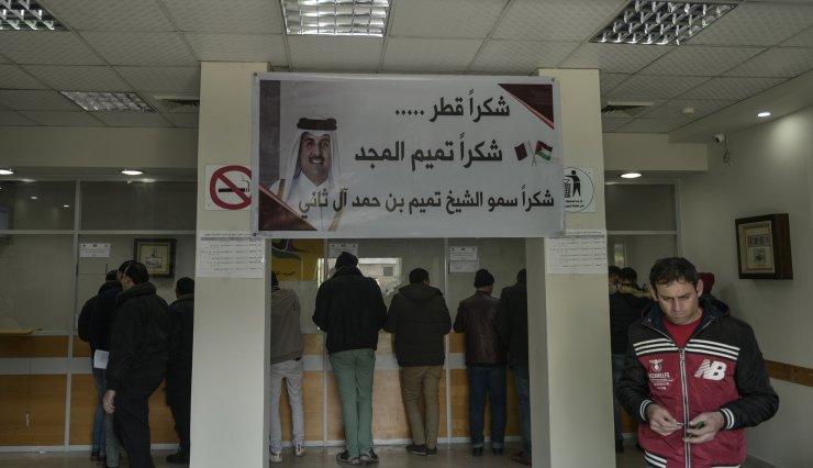 Katar'dan Gazze'deki 70 bin aileye nakdi yardım