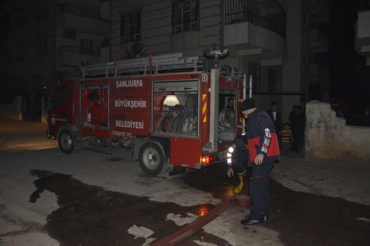 Siverek'te yangın: Dumandan etkilenen 9 kişi hastaneye kaldırıldı