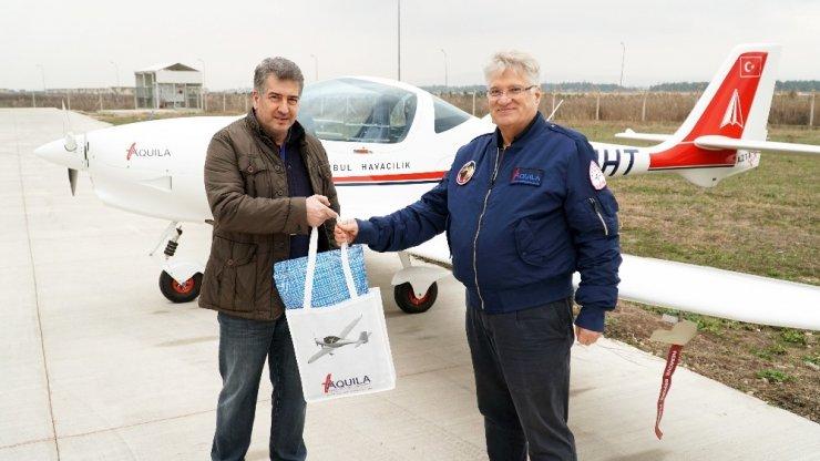 Türk Kartalı Aquila yuvaya döndü