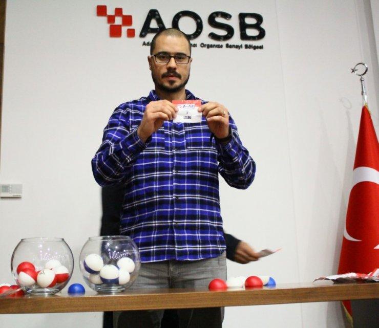 AOSB Futbol Turnuvası başlıyor