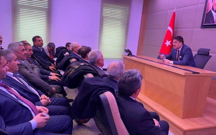 TBMM'de Erzurum Tarım gündemi
