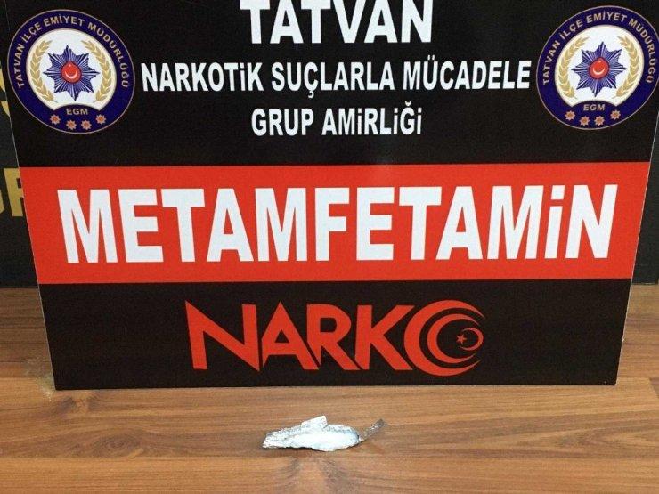 Bitlis'te uyuşturucu operasyonu
