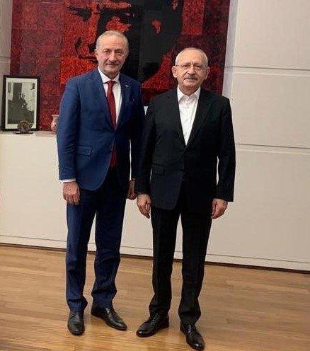 Başkan Atabay'dan Kılıçdaroğlu'na ziyaret
