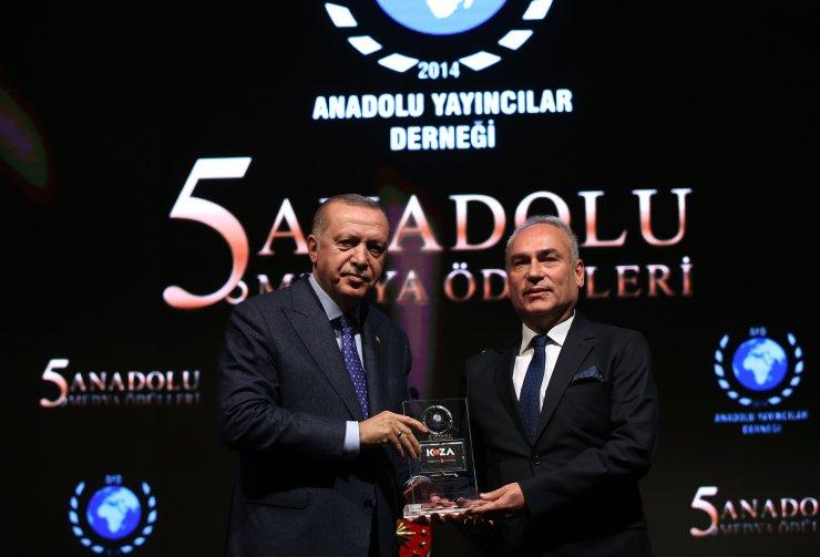 Cumhurbaşkanı Erdoğan 5. Anadolu Medya Ödülleri töreninde konuştu: (2)