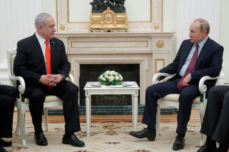 İsrail Başbakanı Netanyahu, Rusya Devlet Başkanı Putin ile görüştü