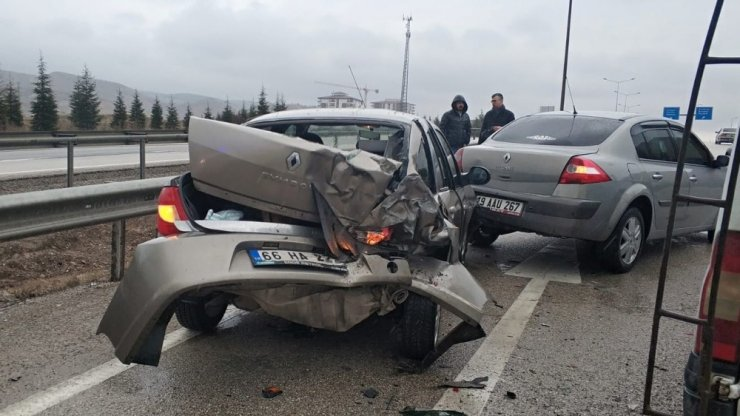 Kırıkkale'de iki ayrı trafik kazası: 7 yaralı