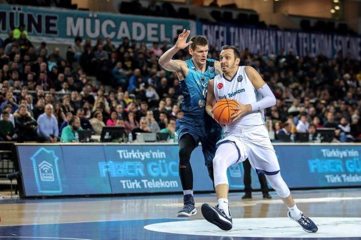 Türk Telekom'dan Şampiyonlar Ligi'nde 4 maçlık seri