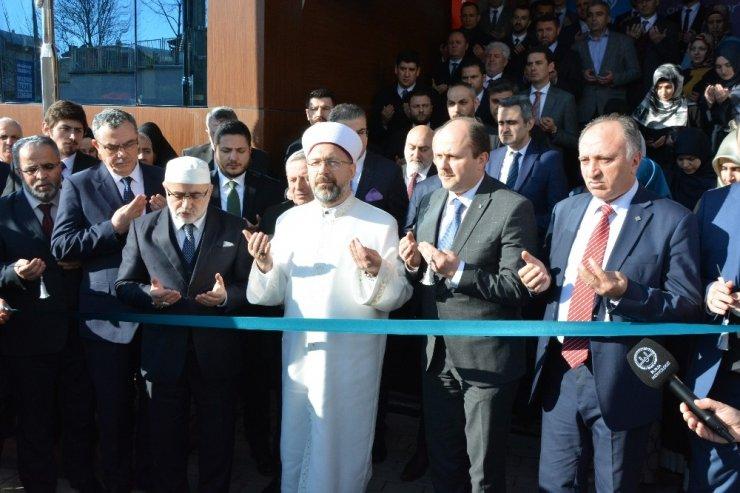 Diyanet İşleri Başkanı Erbaş Bursa'da yurt açtı