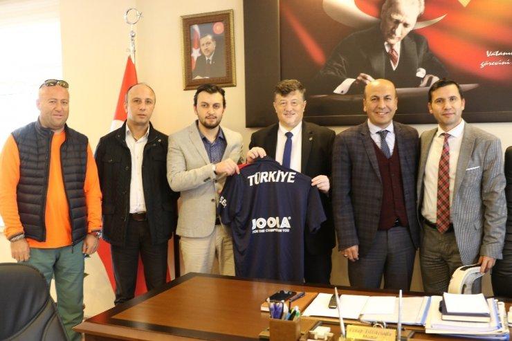 Başkandan İl Müdürü Fillikçioğlu'na ziyaret