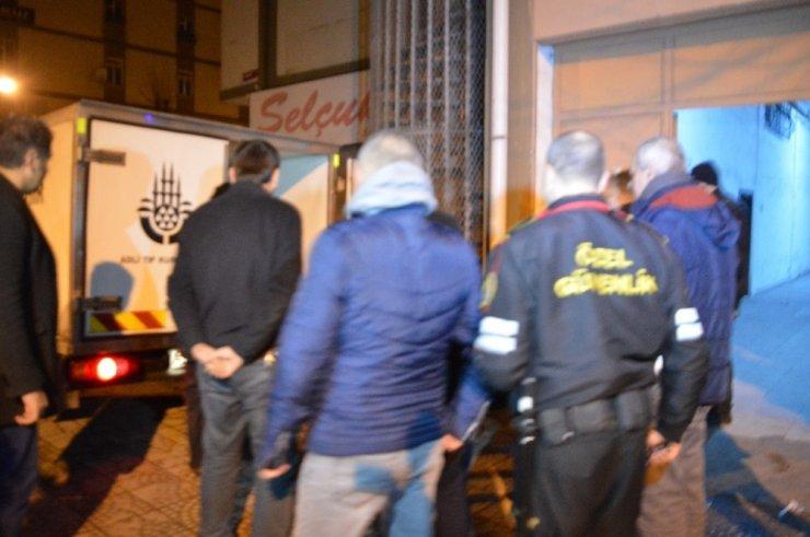 Başakşehir'deki sanayi sitesinde korkunç cinayet