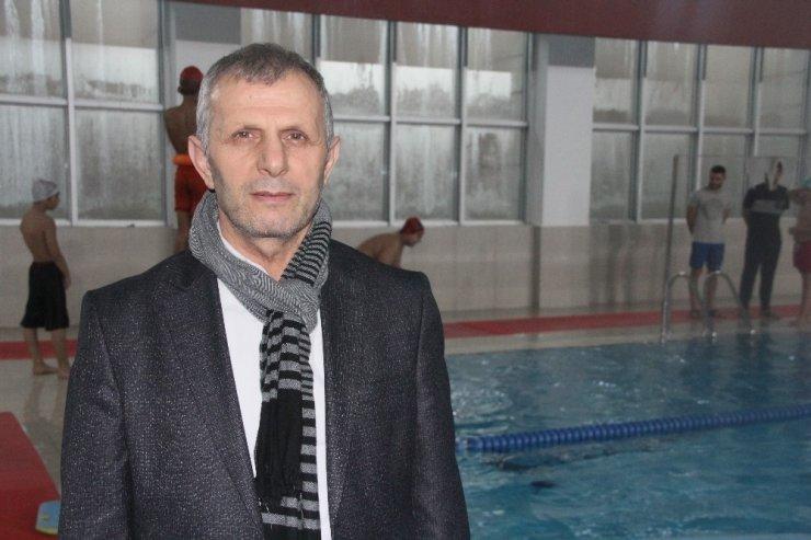 Roman çocuklara yarıyıl tatilinde yüzme eğitimi