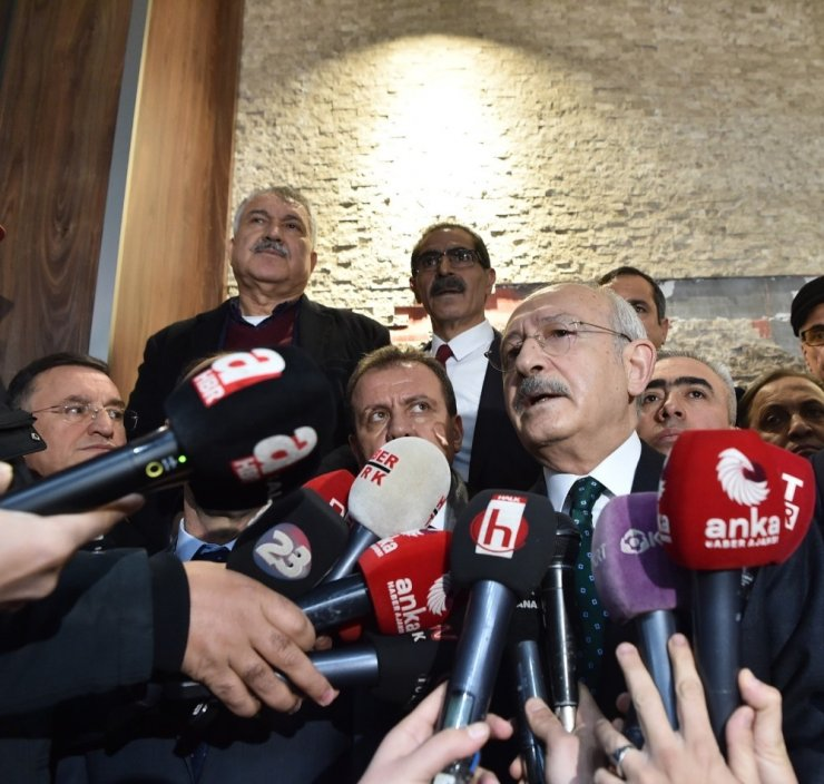 """Kılıçdaroğlu,""""Bu felaketi, acıyı paylaşmak için yüreğimiz gönlümüz bir"""""""