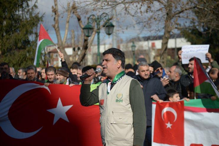 Eskişehir ve Kütahya'da ABD'nin sözde Orta Doğu barış planı protesto edildi