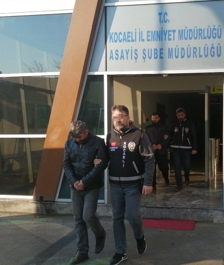 Kocaeli'de 24 ton alüminyum kablo çaldıkları iddiasıyla yakalanan 4 şüpheli tutuklandı
