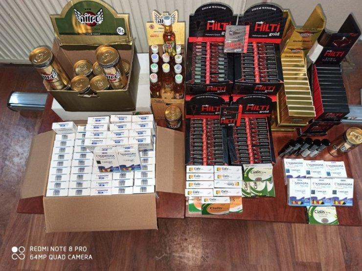 Kütahya'da cinsel içerikli kaçak ürünler ele geçirildi