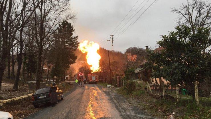 GÜNCELLEME - Ordu'da doğal gaz borusu patladı