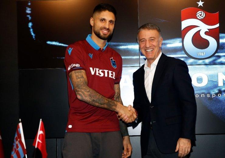 Trabzonspor, Guilherme, Da Costa ve Messias ile sözleşme imzaladı