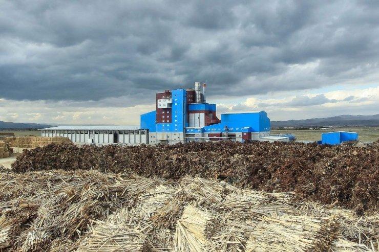 Bordo-mavi elektrik santrali