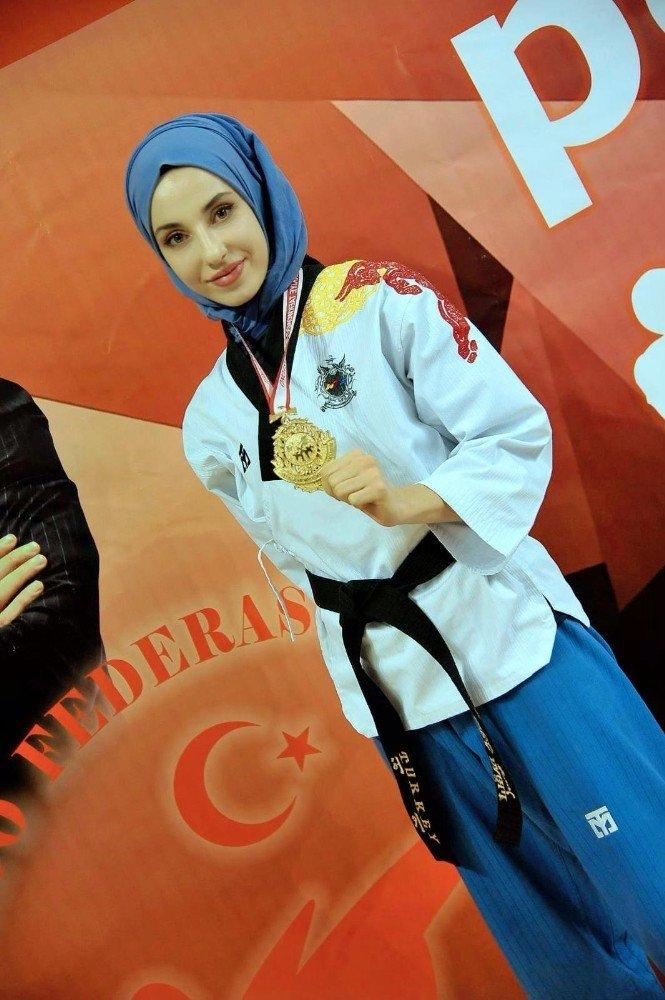 Kübra Dağlı Türkiye şampiyonu oldu