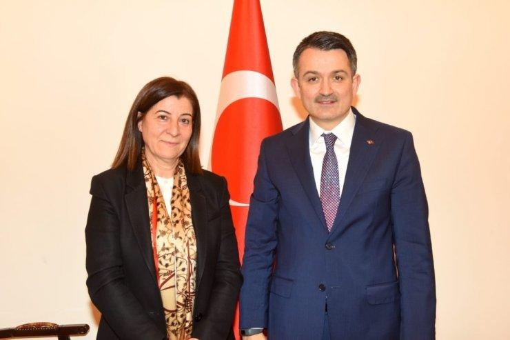 Edirne Milletvekili Aksal'dan, Bakanlara ziyaret