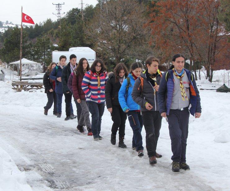 Ankara'nın izci gruplarının gözdesi Karagöl