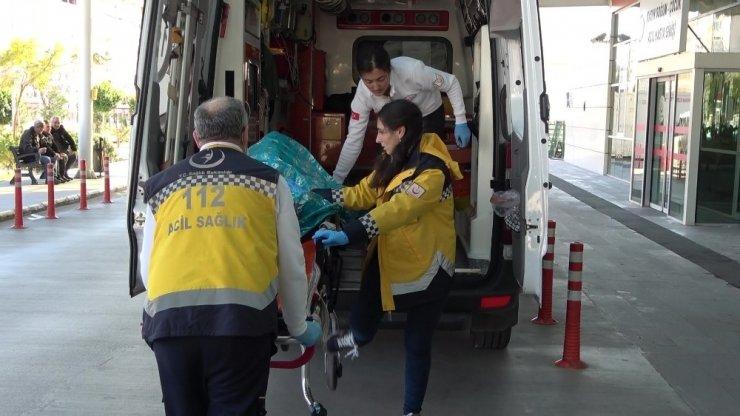 Boğulma tehlikesi geçiren vatandaşın imdadına deniz polisi yetişti
