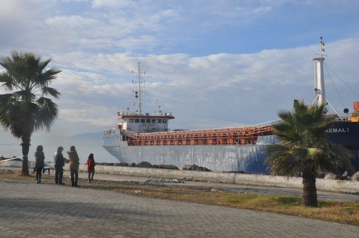 GÜNCELLEME - Hatay'da karaya oturan kargo gemisi kurtarıldı