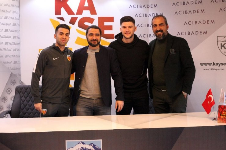 Kayserispor 9 transfer yaptı