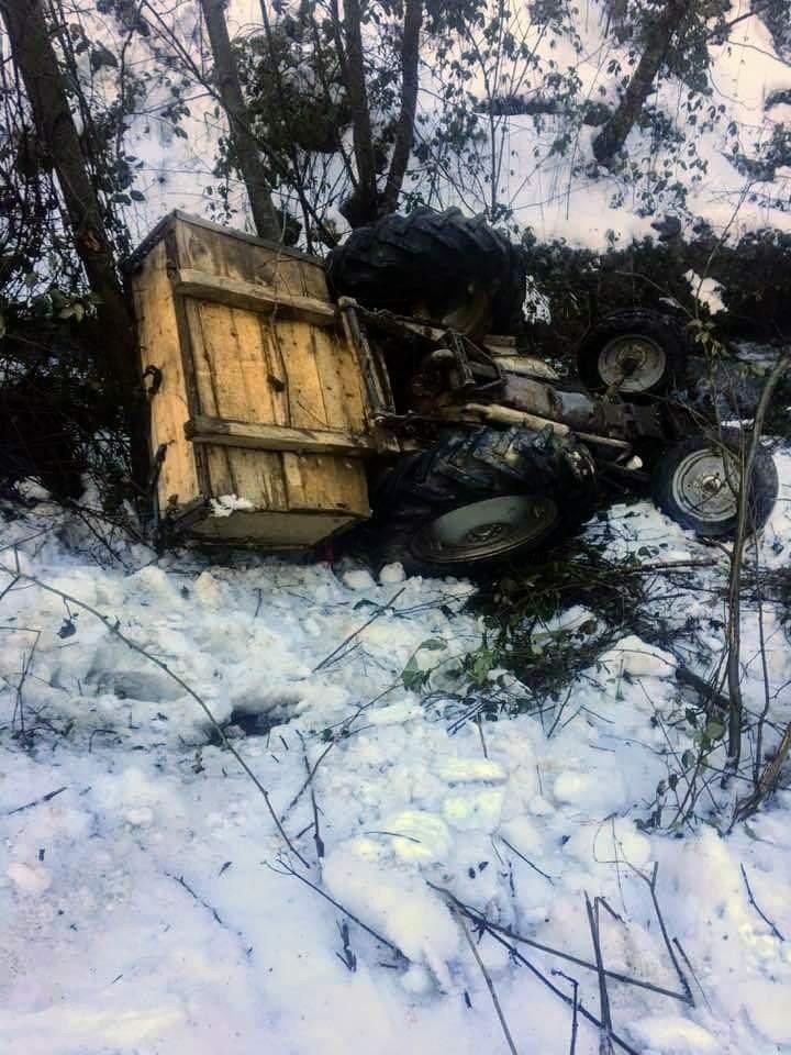 Kastamonu'da traktör devrildi: 1 yaralı