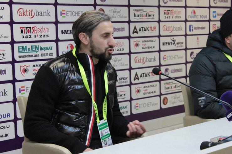"""Serkan Özbalta: """"Ligi ilk 6'nın içinde bitirmeyi hedefliyoruz"""""""