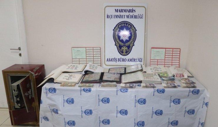 Polisin titiz çalışması ile hırsızların servet sevinci yarıda kaldı