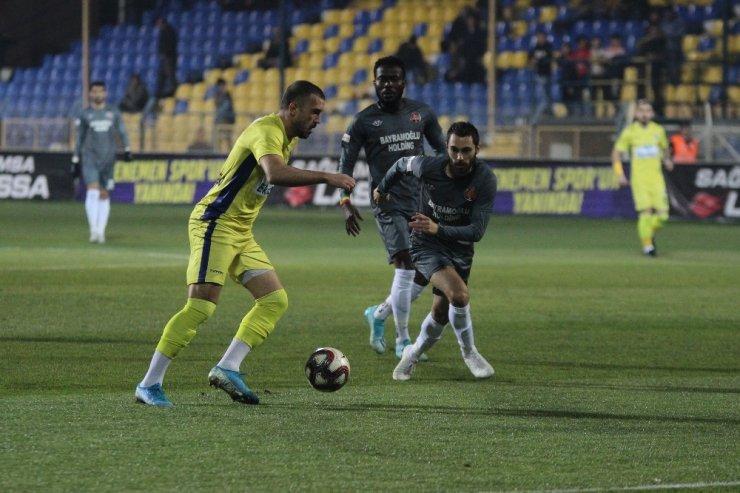 TFF 1. Lig: Menemenspor: 0 - Fatih Karagümrük: 1