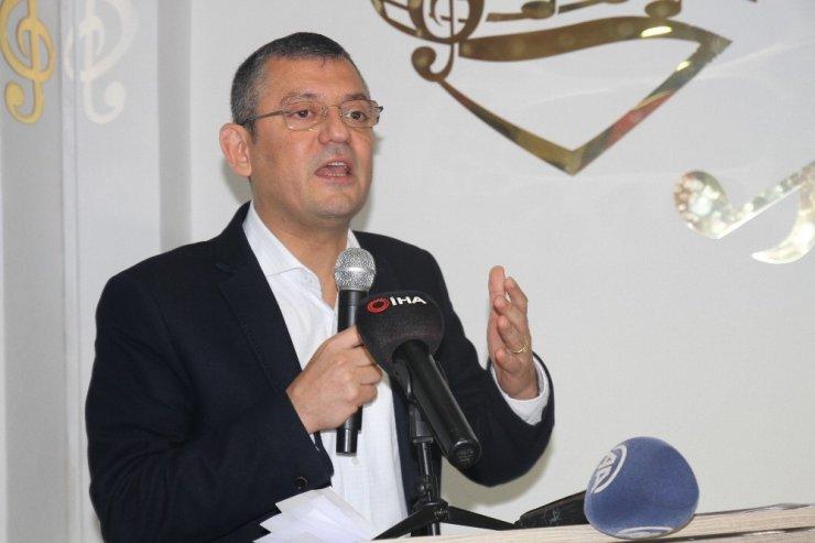 """CHP Grup Başkanvekili Özel: """"Seçimler erkene alınırsa dünden razıyız"""""""