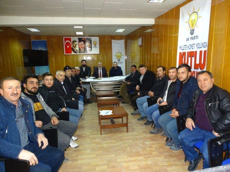 Hisarcık AK Parti'de delege seçimleri yapıldı