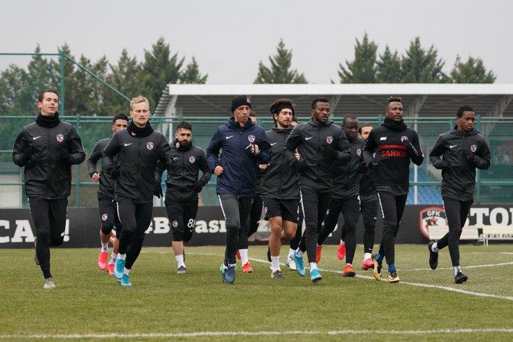 Gaziantep FK, Beşiktaş maçı hazırlıklarına başladı