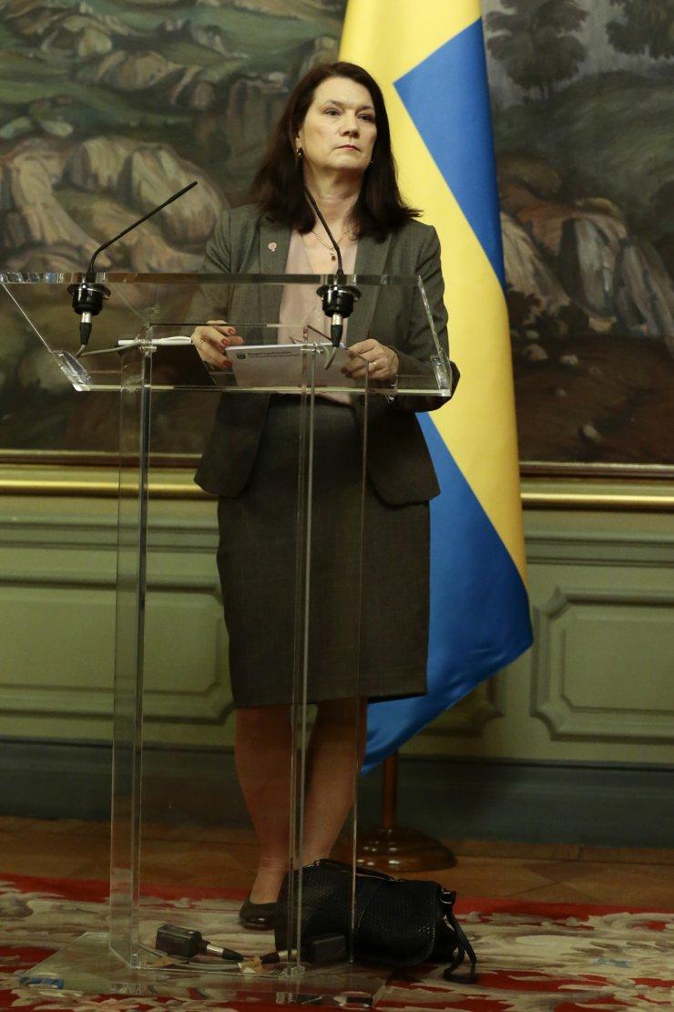 """İsveç Dışişleri Bakanı Linde: """"Rusya'nın Minsk anlaşmalarındaki yükümlülüklerini yerine getirmesini bekliyoruz"""""""