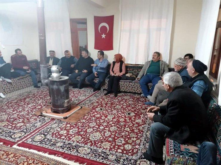 Beypazarı'nda çiftçilere yönelik bilgilendirme toplantısı