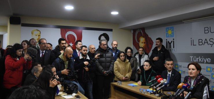 İYİ Parti Genel Başkanı Akşener'den parti içi demokrasi değerlendirmesi: