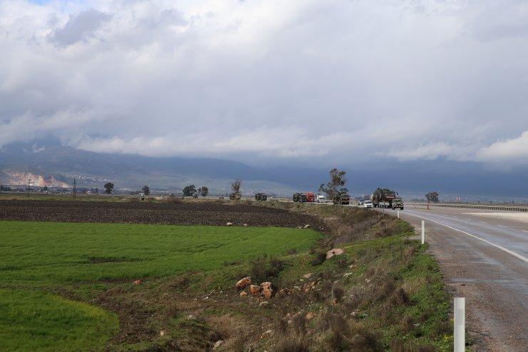 İdlib'deki gözlem noktalarına obüs takviyesi yapıldı