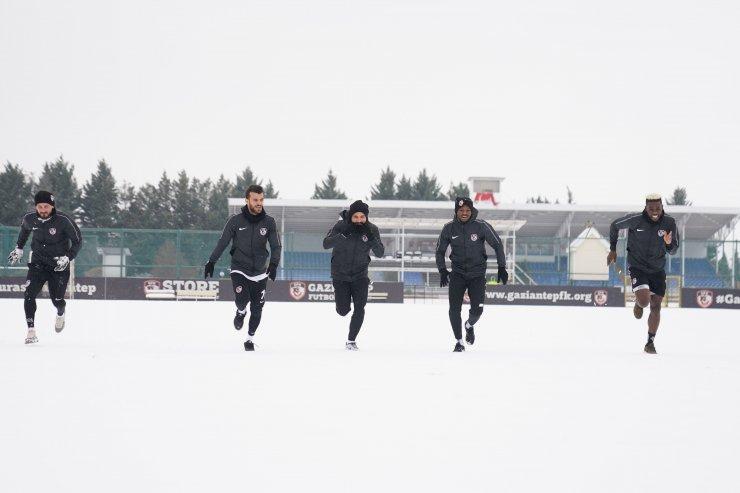 Gaziantep FK'de neşeli antrenman