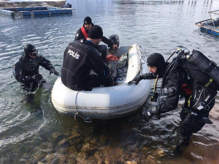 Batan teknede kaybolan şahsın cansız bedenine ulaşıldı