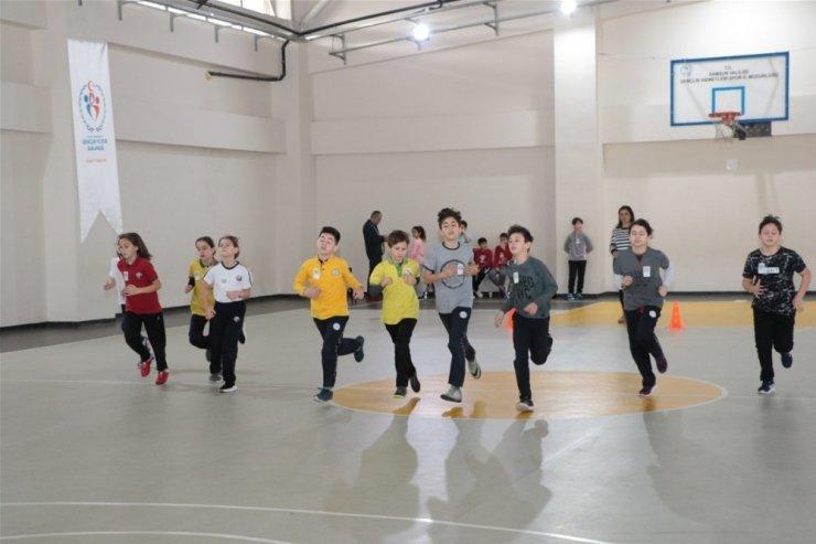 Geleceğin sporcularının seçileceği proje Samsun'da başladı