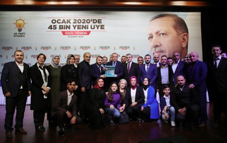 Cumhurbaşkanı Erdoğan, AK Parti Yeni Üye Çalışmaları Ödül Töreni'nde konuştu: (2)
