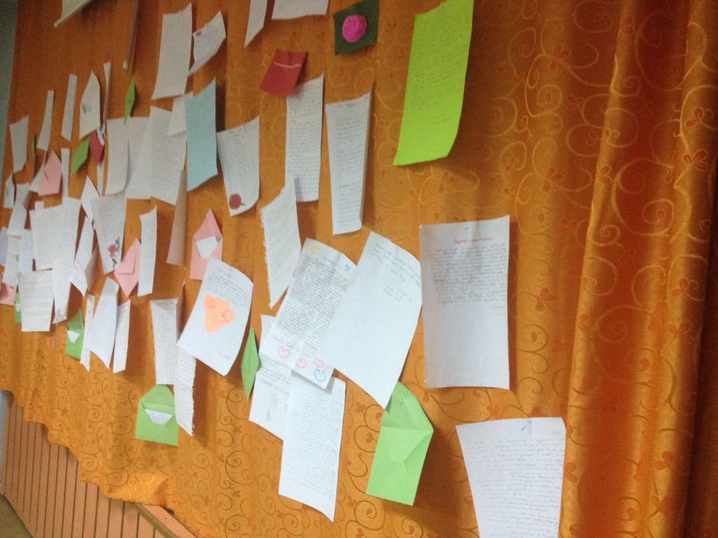özel Konya Model öğrencileri Peygamber Efendimize Sav Mektup Yazdı