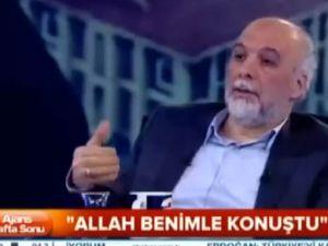 Latif Erdoğan: Gülen Allah'la konuştuğunu söyledi