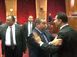 KKTC Meclisi'nde kavga